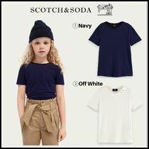 大人もOK♪ ☆Scotch & Soda☆ Linen-blend round neck T-shirt