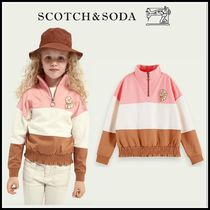 大人もOK♪ ☆Scotch & Soda☆ Colour block half zip sweater
