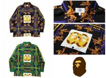 A BATHING APE(アベイシングエイプ) シャツ 【A BATHING APE】DOUBLE APE HEAD RELAXED SHIRT 全2色在庫確認