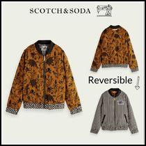 大人もOK♪ ☆Scotch & Soda☆Printed reversible bomber jacket