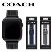 【COACH】Apple Watch Signatureシリコンストラップ 42mm&44mm☆