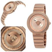【SALE日本完売★レア】Versace V-METAL ICON WATCH VLC14 0017