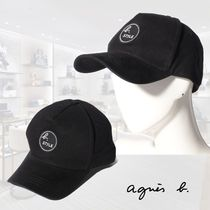 agnes.b☆CASQUETTE b. STYLEロゴ入りキャップ 男女兼用