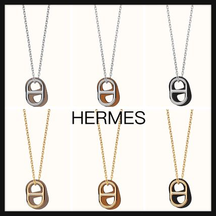 【Hermes】直営/正規店 O'Maillon pendant チェーン ネックレス