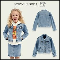 大人もOK♪ ☆Scotch & Soda☆ Trucker Jacket - Etched In Blue