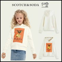 大人もOK♪ ☆Scotch & Soda☆ Artwork print boxy fit hoodie
