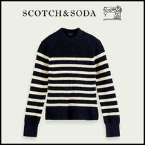 大人もOK♪ ☆Scotch & Soda☆ Knitted cotton Breton sweater