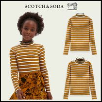 大人もOK♪ ☆Scotch & Soda☆ Curled collar long-sleeved rib