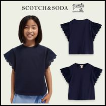 大人もOK♪ ☆Scotch & Soda☆ Cotton jersey scalloped sleeve