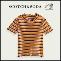 大人もOK♪ ☆Scotch & Soda☆ Ruffle striped T-shirt