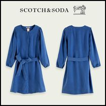 大人もOK♪ ☆Scotch & Soda☆ Cupro-TENCEL blend shirt dress