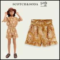 大人もOK♪ ☆Scotch & Soda☆ Ruffled-hem cotton-blend shorts