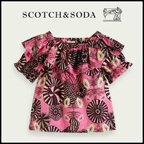 大人もOK♪ ☆Scotch & Soda☆ Ruffled off-shoulder organic