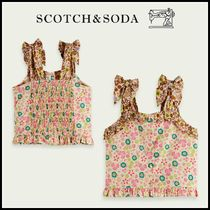 大人もOK♪ ☆Scotch & Soda☆ Printed cropped smock top