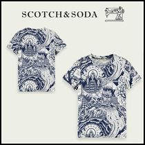大人もOK♪ ☆Scotch & Soda☆ Short-sleeved printed cotton
