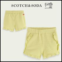 大人もOK♪ ☆Scotch & Soda☆ Ruffled organic cotton shorts