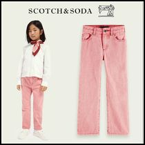 大人もOK♪ ☆Scotch & Soda☆ Mid-rise wide-leg cotton