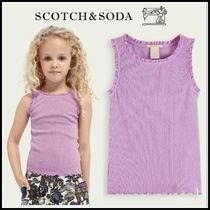 大人もOK♪ ☆Scotch & Soda☆ Lace edged organic cotton tank