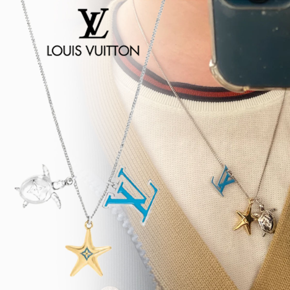 ◆2021SS◆ LOUIS VUITTON  ネックレス アクセサリー かめ (Louis Vuitton/ネックレス・ペンダント) M00280