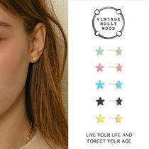 Vintage Hollywood★Twinkle Little Star Post Earring/ピアス