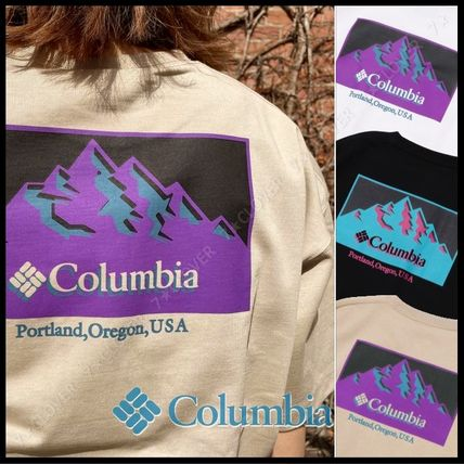 国内発送・正規品★Columbia★MEN'S OVERSIZED T-SHIRT★COLOR