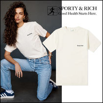 2021SS新作!【Sporty&Rich】CLASSIC ロゴ Tシャツ クリーム