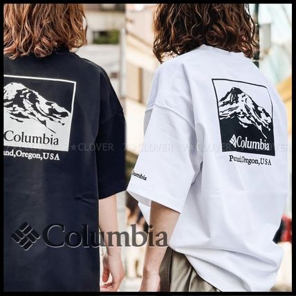国内発送・正規品★Columbia★MEN'S OVERSIZED TEE★MONOCHROME