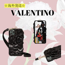 【Valentino】IPHONE12ProMaxケース ATELIER SLG 03ROSE EDITION