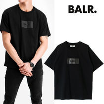 【最短翌日着】BALR. SATIN PRINT OVERSIZED FIT T-SHIRT B1112