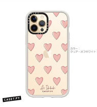 CASETiFY iPhone 12 Pro Max ケース Heart Pink 限定 コラボ