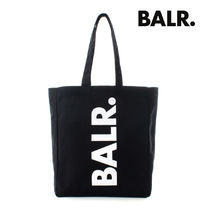【最短翌日着】BALR. BRANDED TOTE BAG SMALL JET BLACK B6235