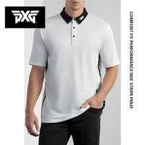 [PxG] COMFORT FIT PERFORMANCE SIDE STRIPE POLO