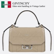 Givenchy Eden mini handbag in Vintage leather