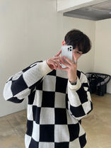 Min Checkmate Round Knit (2color)