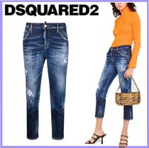2021SS DSQUARED2 Cool Girl Cropped  jeans