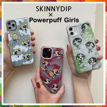 *skinnydip* × Powerpuff Girls コラボ  iPhone スマホケース