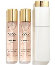 CHANEL COCO MADEMOISELLE EDT TWIST AND SPRAY 20ml×3