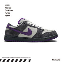 入手困難レアダンク!Nike SB Dunk Low Purple Pigeon