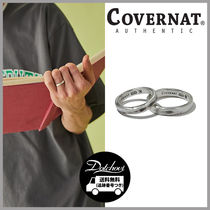 COVERNAT 925 SILVER CLAY RING HM743 追跡付