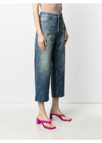 CROPPED DENIM JEANS ジーパン 追跡付