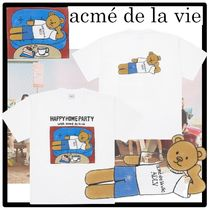 ☆acme'de la vie☆HAPPY HOME PARTY SHORT SLEEVE T-SHIR.T★