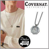 COVERNAT BULLDOG STAMP NECKLACE SILVER HM747 追跡付