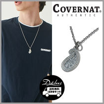 COVERNAT PAISLEY NECKLACE SILVER HM748 追跡付