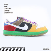 入手困難!レアダンク!Nike Dunk Low Cowboy Sole Collector