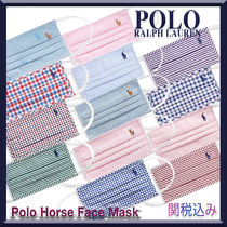 Polo Ralph Lauren★Polo Horse Face Mask コットンマスク♪