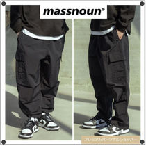 MASSNOUNのEASY CARGO NYLON PANTS