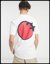 SELECTED(セレクトテッド) Tシャツ・カットソー 【関税/送料込】SELECTED HOMME バック鯉プリント/WHITE