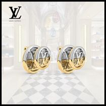 Louis Vuitton(ルイヴィトン)L TO V EARRINGS Slver Gold LV