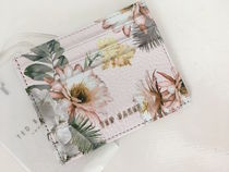 Ted Baker London Weisser Woodland Card Caseセール 国内即発送
