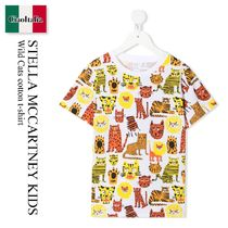 Stella Mccartney Kids Wild Cats cotton t-shirt